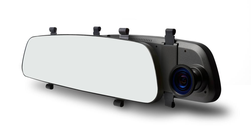 Накладка на зеркало с видеорегистратором TrendVision MR-700 GNS видеорегистратор trendvision mr 700 gns черный