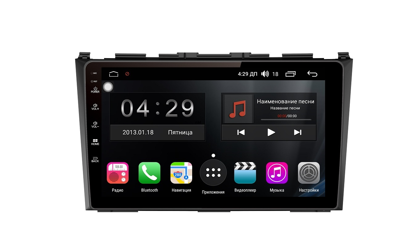 Штатная магнитола FarCar s300-SIM 4G для Honda CR-V 2006-2012 на Android (RG009R) (+ Камера заднего вида в подарок!)