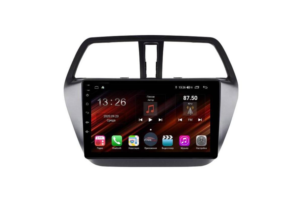 Штатная магнитола FarCar s400 Super HD для Suzuki Sx-4 на Android (XH337R) (+ Камера заднего вида в подарок!)