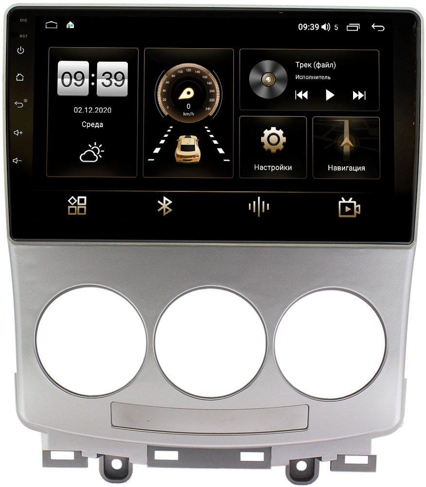Штатная магнитола Mazda 5 I (CR), Premacy II (CR) 2005-2010 LeTrun 4196-9147 на Android 10 (6/128, DSP, QLed) С оптическим выходом (+ Камера заднего вида в подарок!)