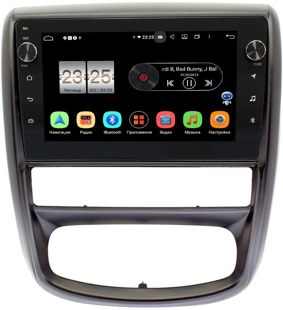 Штатная магнитола LeTrun BPX609-9275 для Renault Duster 2010-2015 на Android 10 (4/64, DSP, IPS, с голосовым ассистентом, с крутилками) (+ Камера заднего вида в подарок!)