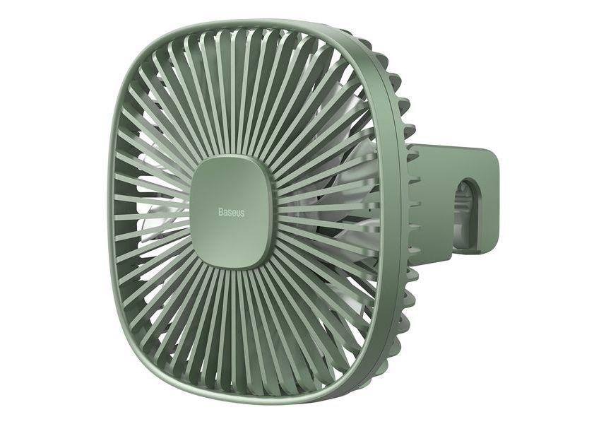 Магнитный вентилятор заднего для сиденья Baseus Natural Wind Magnetic Rear Seat Fan Green