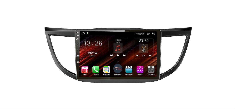 Штатная магнитола FarCar s400 Super HD для Honda CR-V на Android (XH469R) (+ Камера заднего вида в подарок!)