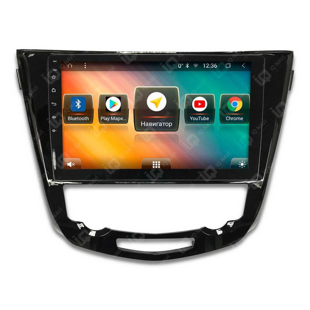 Автомагнитола IQ NAVI TS9-2105PFHD Nissan Qashqai (J11) (2014+) / X-Trail (T32) (2015+) 10,1 DSP (4 CH) + 4G SIM (с автоматическим климат-контролем) (+ Камера заднего вида в подарок!)