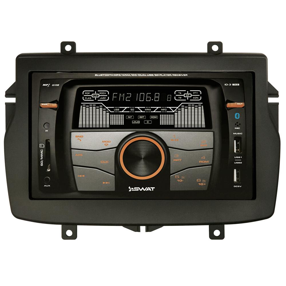 Штатная магнитола SWAT 46-1202 для LADA Vesta без рулевого управления (комплект) (+ Камера заднего вида в подарок!)