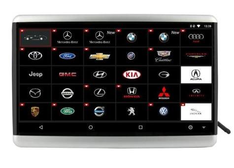 Навесной монитор FarCar Z011 на Android (+ Салфетки из микрофибры в подарок)
