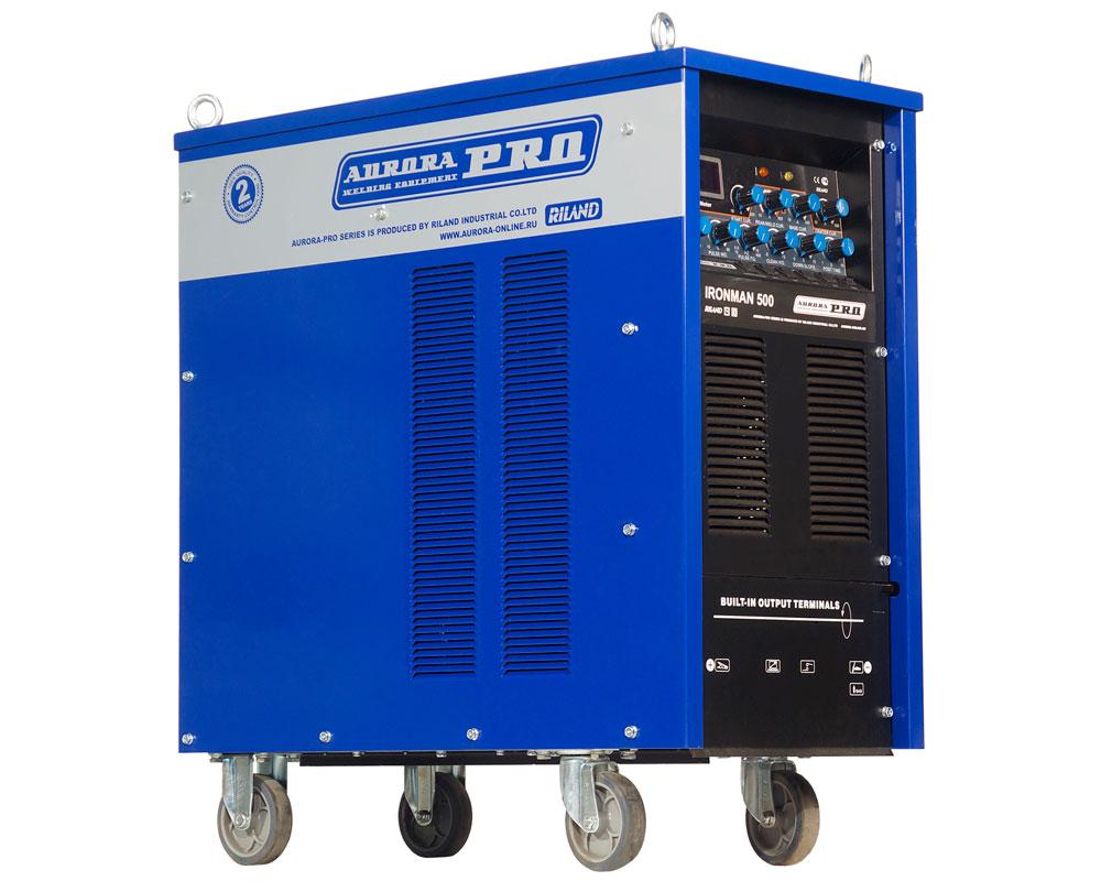 Аппарат аргонно-дуговой сварки AuroraPRO IRONMAN 500 AC/DC PULSE