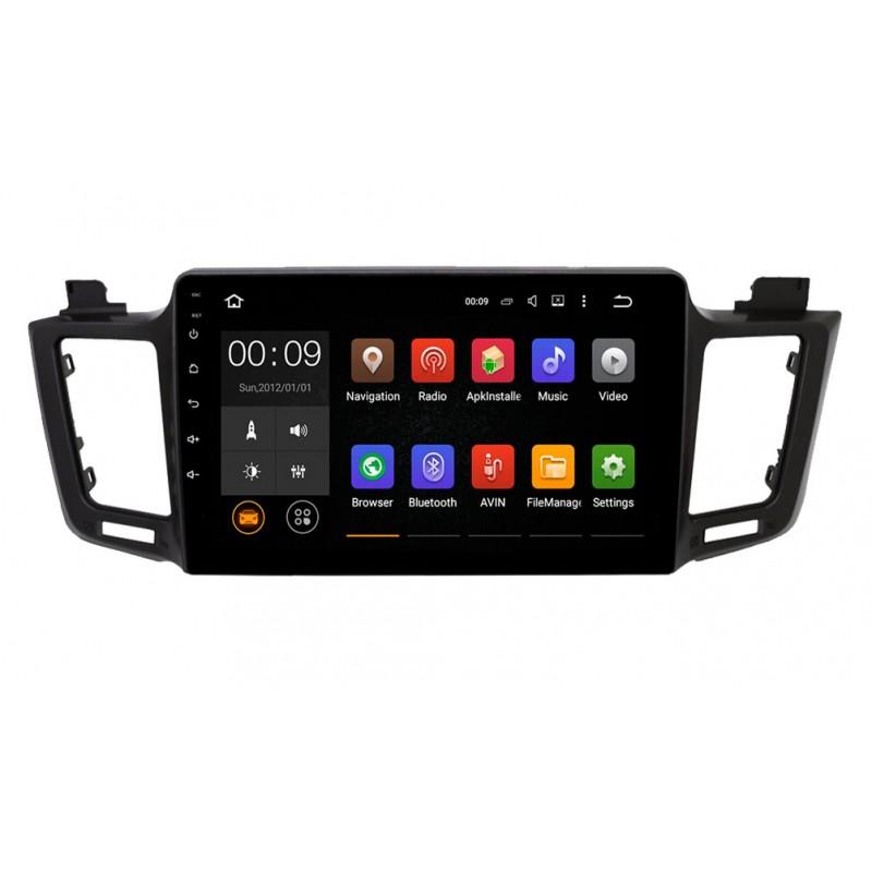 Штатная магнитола Roximo 4G RX-1110 для Toyota Rav4 (Android 6.0) (+ Камера заднего вида в подарок!) штатная магнитола roximo 4g rx 3707 для volkswagen polo android 6 0 камера заднего вида в подарок