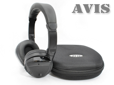 Беспроводные ИК наушники AVIS AVS002HP (двухканальные)