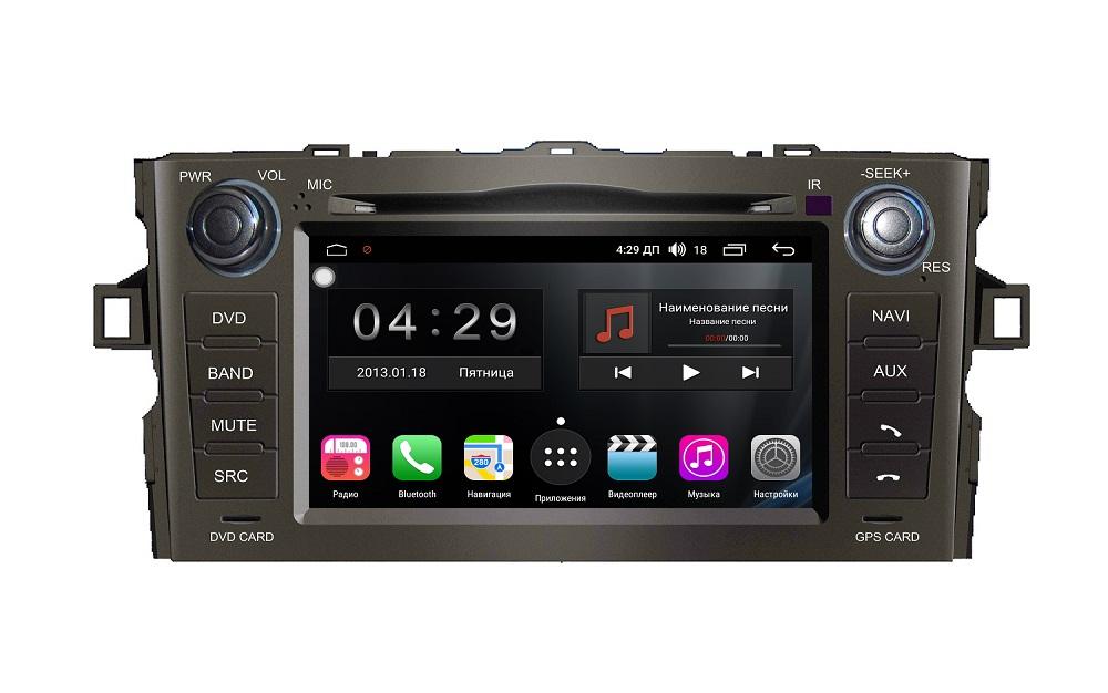 Штатная магнитола FarCar s300 для Toyota Auris 2006-2012 на Android (RL028) (+ Камера заднего вида в подарок!)