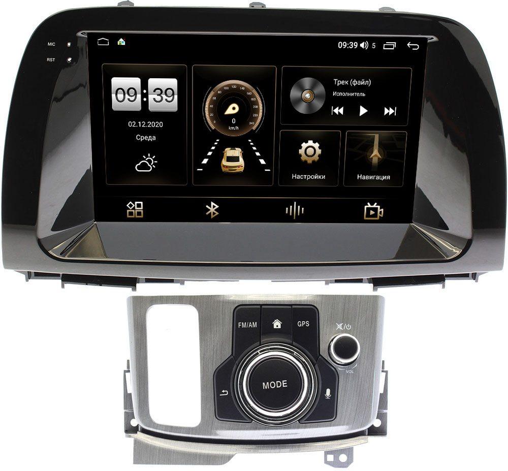 Штатная магнитола Mazda CX-5 I 2011-2017 (с джойстиком) LeTrun 3792-9193 на Android 10 (4/64, DSP, QLed) С оптическим выходом (+ Камера заднего вида в подарок!)