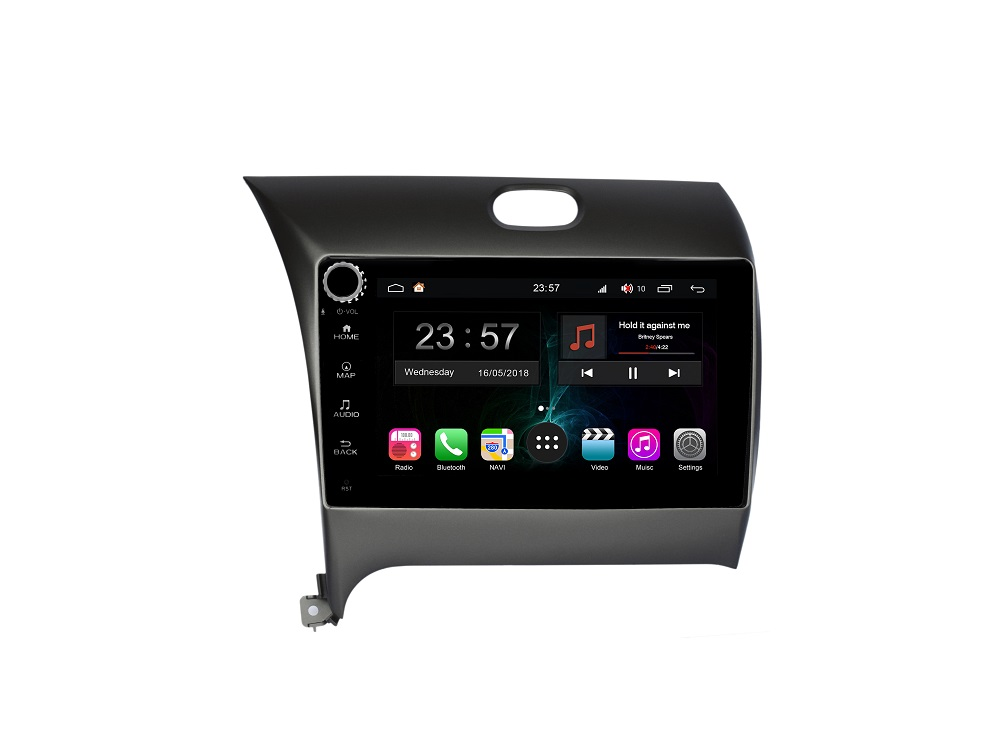 Штатная магнитола FarCar s300-SIM 4G для KIA Cerato на Android (RG280RB) (+ Камера заднего вида в подарок!)