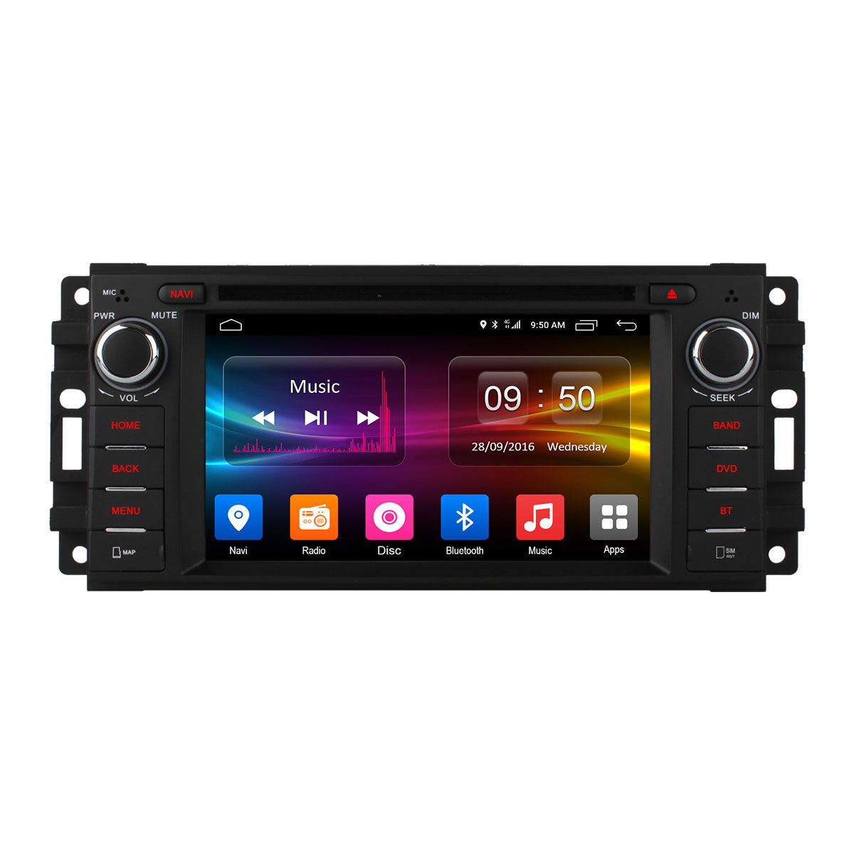 Штатная магнитола CARMEDIA OL-6253-8 (C500+) Jeep/Chrysler/Dodge cige 10 1 inch octa core tablet pc android 6 0 4g lte ram 4gb 64gb rom 1920x1200 ips gps bluetooth tablets dhl free shipping