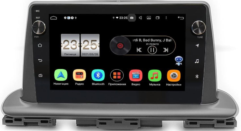 Штатная магнитола LeTrun BPX409-976 для Kia Cerato IV 2020-2021 на Android 10 (4/32, DSP, IPS, с голосовым ассистентом, с крутилками) (+ Камера заднего вида в подарок!)