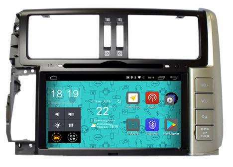 Штатная магнитола Parafar для Toyota Land Cruiser Prado 150 2010-2012 с DVD на Android 7.1.1 (PF065D) (+ Камера заднего вида в подарок!) александр генис довлатов и окрестности передача первая последнее советское поколение