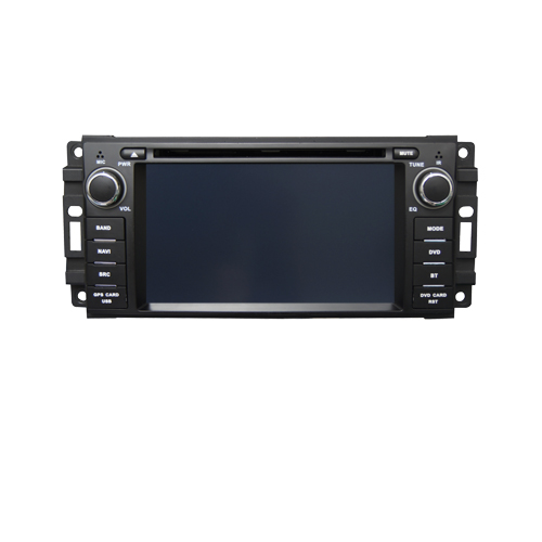 Штатная магнитола CARMEDIA QR-6205 DVD Jeep/Chrysler/Dodge