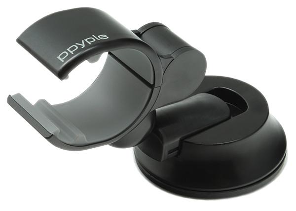Ppyple Dash-Clip F5 black держатель на приб. панель и стекло, для смарфонов до 6