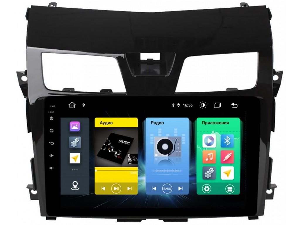 Головное устройство vomi FX376R10-MTK-LTE для Nissan Teana J33 2014+ (+ Камера заднего вида в подарок!)