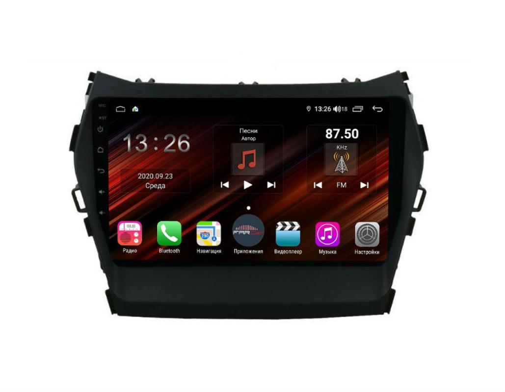 Штатная магнитола FarCar s400 Super HD для Hyundai Santa Fe 2012+ на Android (XH209R) (+ Камера заднего вида в подарок!)