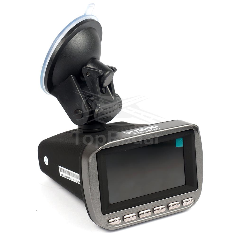 Видеорегистратор с радар-детектором Subini STR-845RU subini dvr mini900