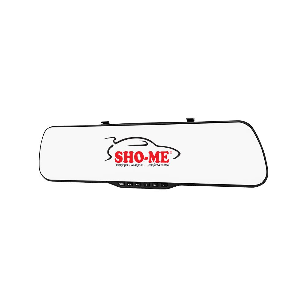 Автомобильный видеорегистратор-зеркало с 2-мя камерами SHO-ME SFHD 400 видеорегистратор sho me sfhd 400 черный