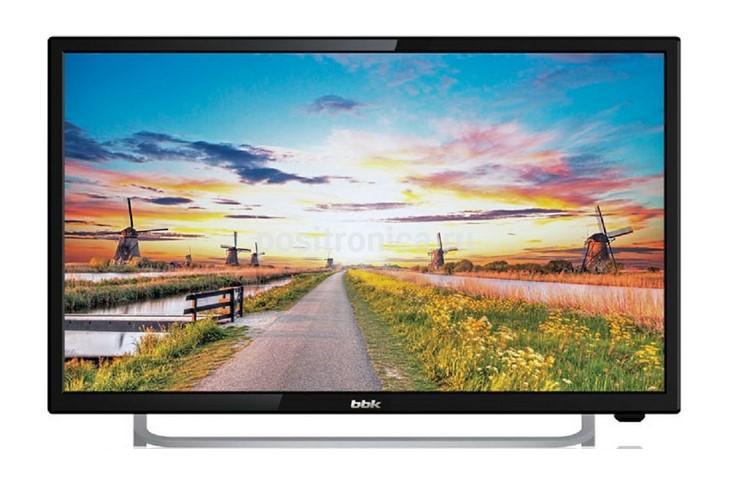 Телевизор BBK 24LEM-1027/FT2C, черный bbk 24lem 1027 ft2c черный