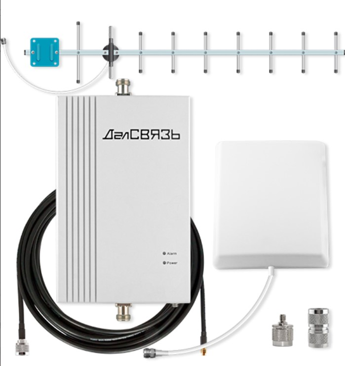 Комплект для усиления 4G Далсвязь DS-2600-20C2 (+ Кронштейн в подарок!)
