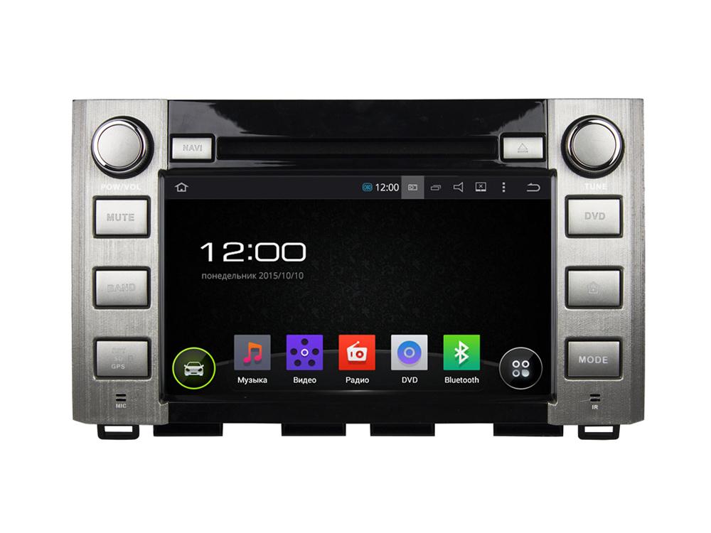 Штатная магнитола FarCar s130 для Toyota Tundra, Sequoia 2014+ на Android (R903) farcar s130 hyundai solaris 2010 android r067