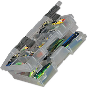 Коробка Plano 4600-00 (3600) для приманок двухуровневая,11-30 отсеков коробка plano 3500 1354 00