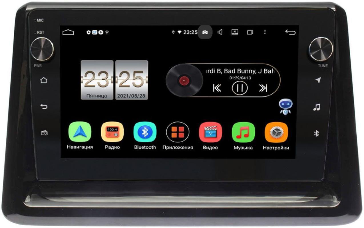 Штатная магнитола LeTrun BPX409-9194 для Toyota Esquire, Noah III (R80), Voxy III (R80) 2014-2021 на Android 10 (4/32, DSP, IPS, с голосовым ассистентом, с крутилками) (+ Камера заднего вида в подарок!)