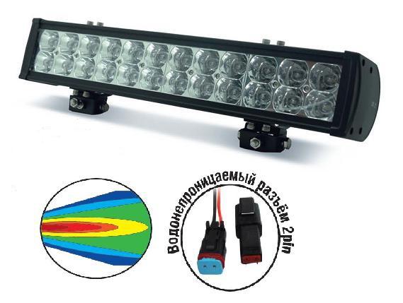 Светодиодные фары OFF-Road AVS Light SL-1520 (72Вт) фара avs light sl 1211a