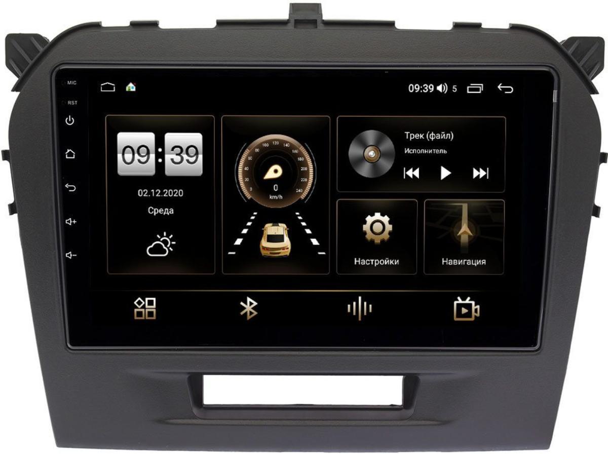 Штатная магнитола Suzuki Vitara IV 2014-2021 LeTrun 4166-9103 на Android 10 (4G-SIM, 3/32, DSP, QLed) (+ Камера заднего вида в подарок!)