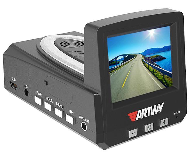 Видеорегистратор с радар-детектором Artway MD-101 Combo 3 в 1 combo prestige md 101 3 в 1 gps радар