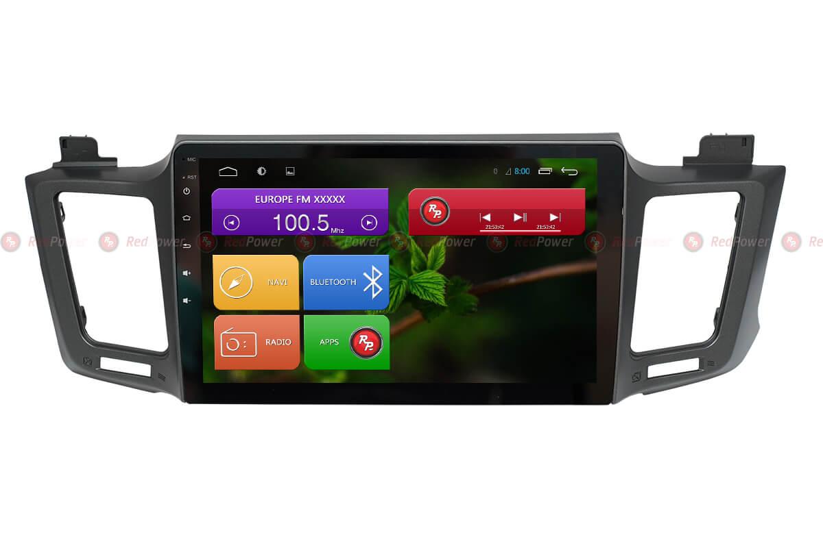 Автомагнитола для Toyota RAV4 2012+ Redpower 31017 R IPS DSP ANDROID 7 (+ Камера заднего вида в подарок!)
