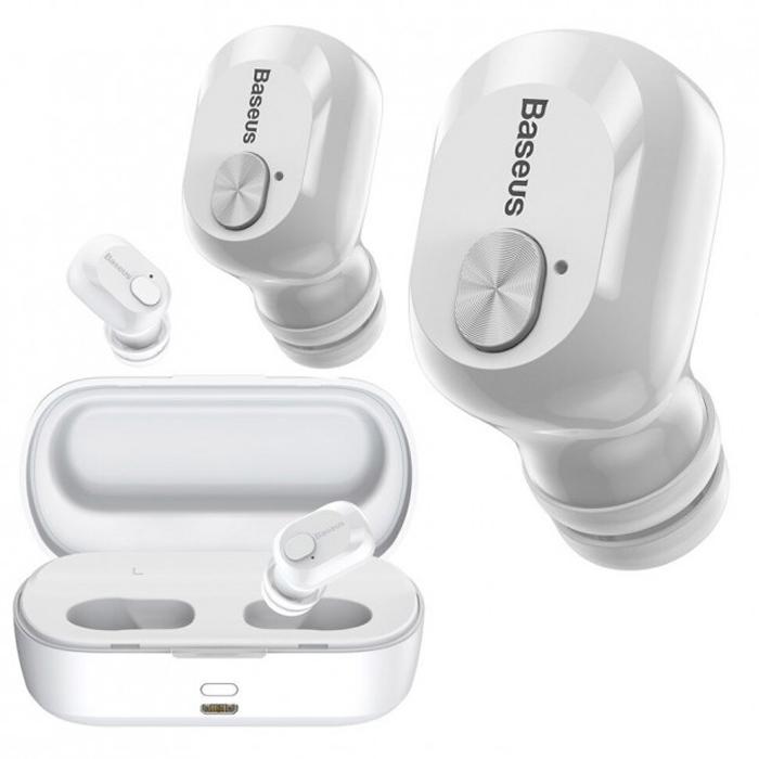 Наушники Baseus Encok True Wireless Earphones W01 White