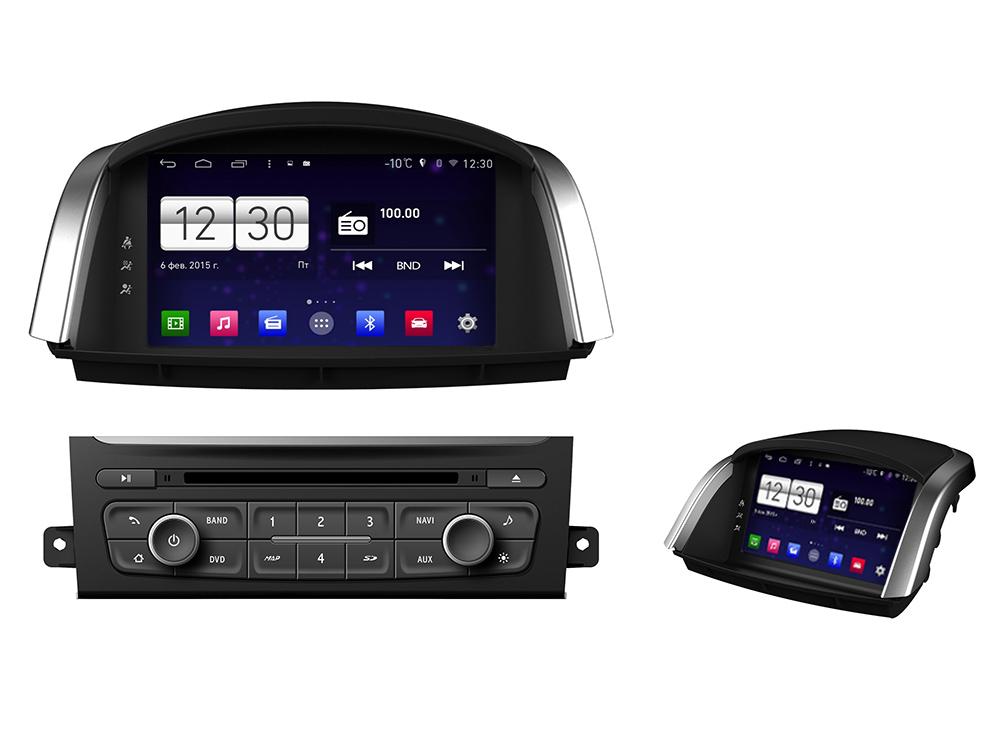 Штатная магнитола FarCar s160 для Renault Koleos на Android (m329) штатная магнитола farcar s160 для audi a4 m050