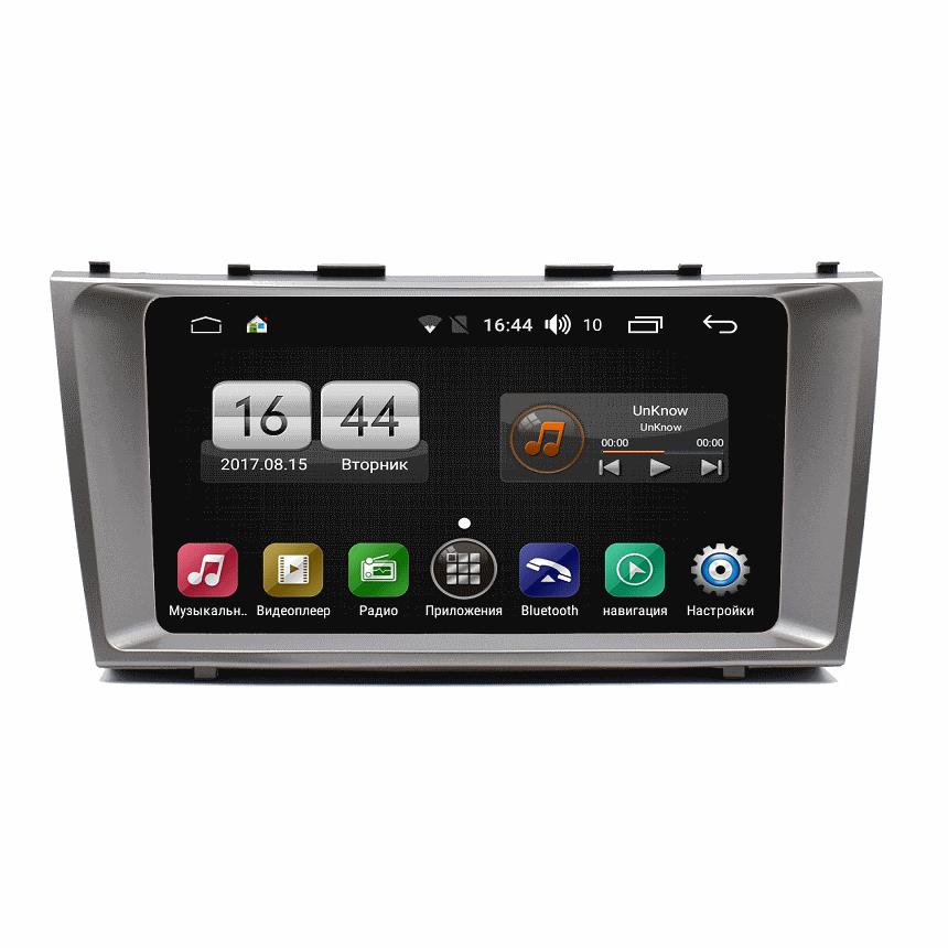 Штатная магнитола FarCar s195 для Toyota Camry 2006-2011 на Android 8.1 (LX1171R) (+ Камера заднего вида в подарок!)