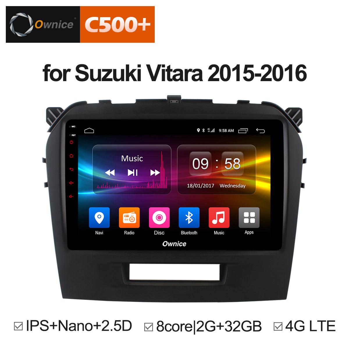 Штатная магнитола CARMEDIA OL-9621-8 (C500+) Suzuki Vitara 2015+ microphone