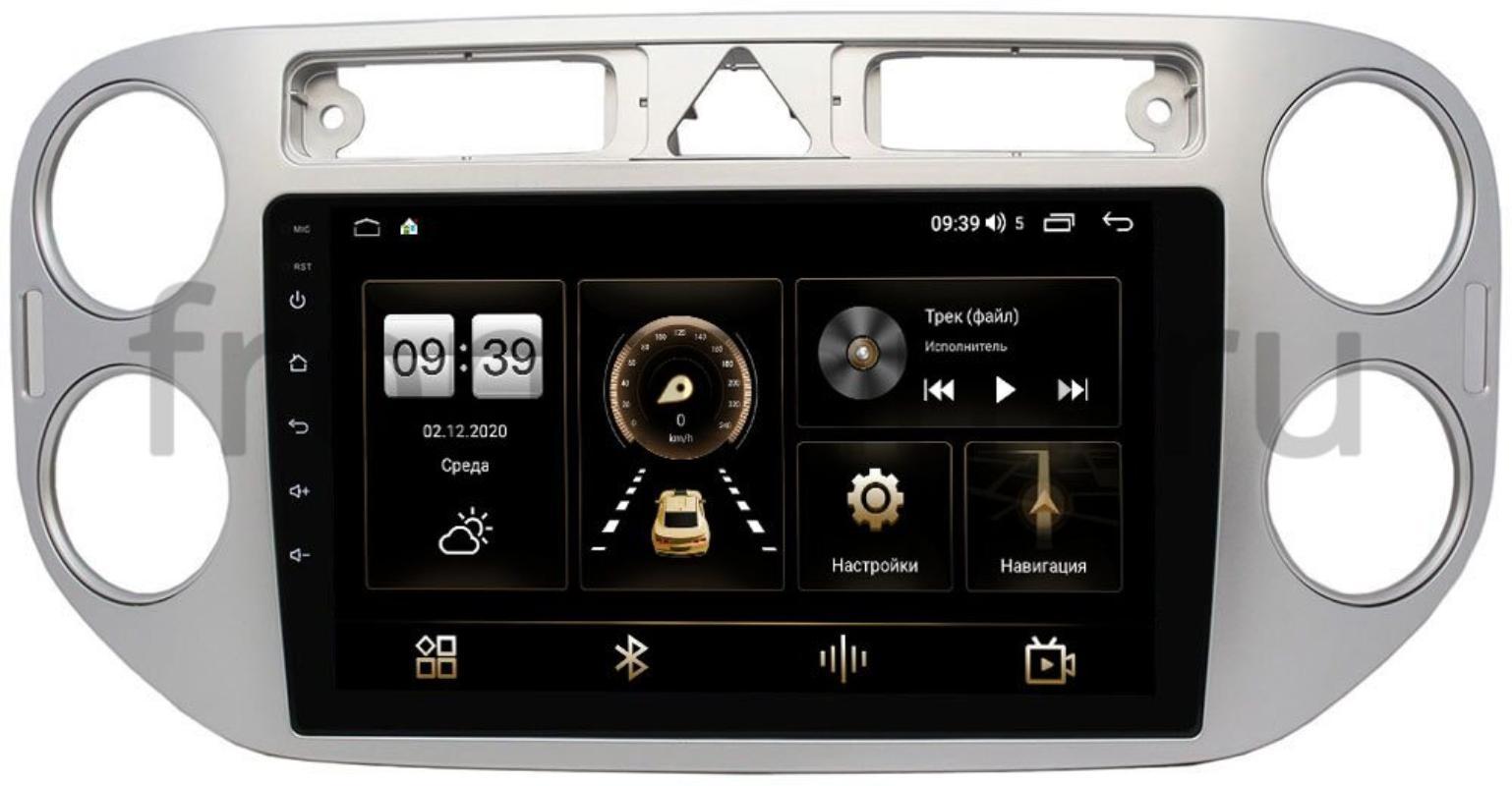 Штатная магнитола LeTrun 3792-9048 для Volkswagen Tiguan 2007-2011, Golf Plus 2004-2014 на Android 10 (4/64, DSP, QLed) С оптическим выходом (+ Камера заднего вида в подарок!)
