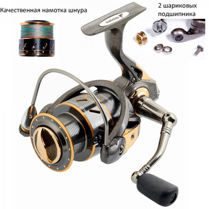 Катушка Salmo Elite JIG N'TWITCH 7 1000FD