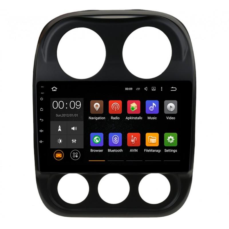 Штатная магнитола Roximo 4G RX-2203 для Jeep Compas (Android 6.0) штатная магнитола swat 12 2203