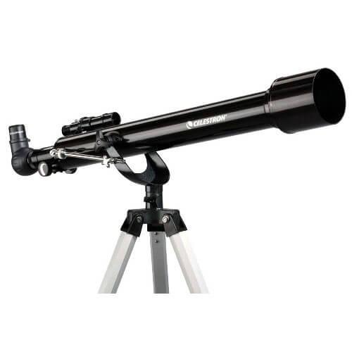 Фото - Телескоп Celestron PowerSeeker 60 AZ (+ Книга «Космос. Непустая пустота» в подарок!) телескоп celestron powerseeker 80 eq салфетки из микрофибры в подарок