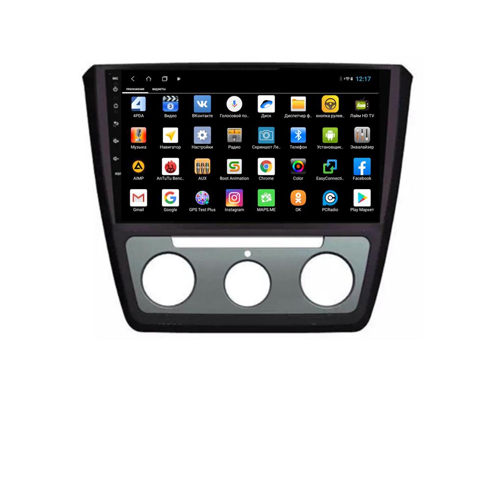 Штатная магнитола Parafar для Skoda Yeti 2013-2017 Android 8.1.0 (PF994XHD) (+ Камера заднего вида в подарок!) штатная магнитола carmedia ol 8992 dvd volkswagen skoda seat по списку