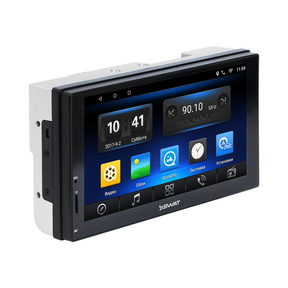 Универсальное головное устройство 2DIN SWAT AHR-5180 (Navitel) Android 6.1 автомагнитола swat ahr 5180 usb sd