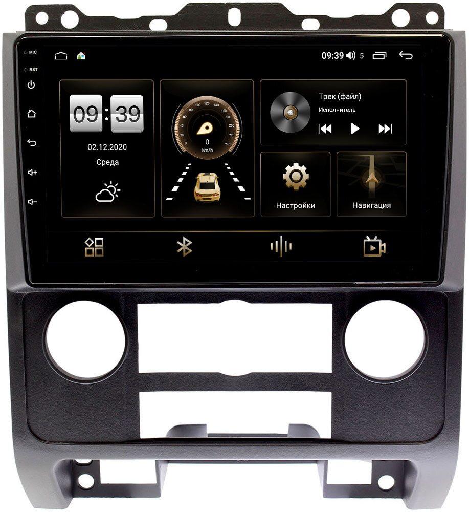 Штатная магнитола LeTrun 4196-9279 для Ford Escape II 2007-2012 (черная) на Android 10 (6/128, DSP, QLed) С оптическим выходом (+ Камера заднего вида в подарок!)