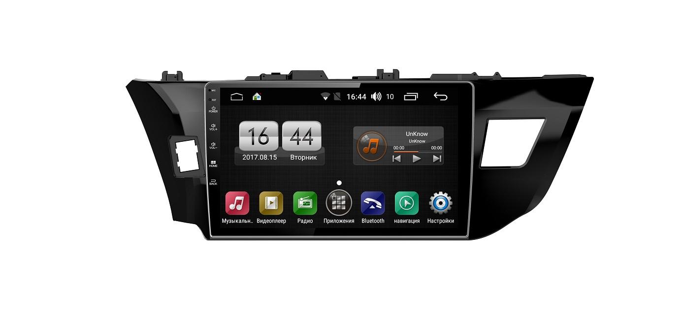 Штатная магнитола FarCar s175 для Toyota Corolla на Android (L307R) штатная магнитола farcar s175 для toyota camry на android l064r