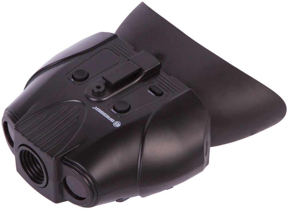Бинокль ночного видения цифровой Bresser 1–2x, с креплением на голову (+ Салфетки из микрофибры в подарок)
