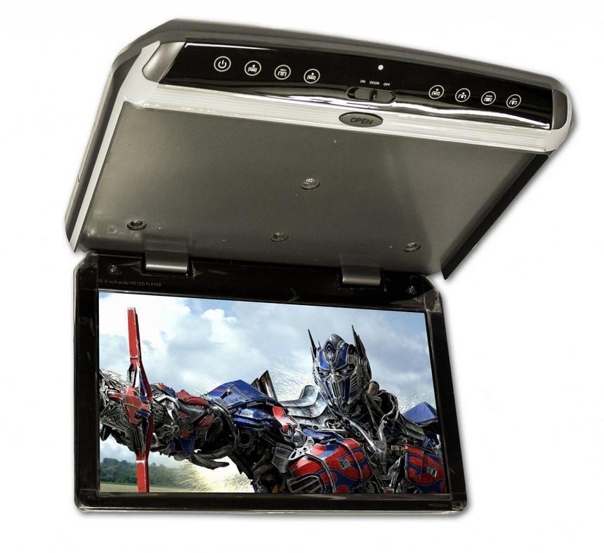 Автомобильный потолочный монитор 18.5 ParaFar PFTech185 (+ Двухканальные наушники в подарок!)