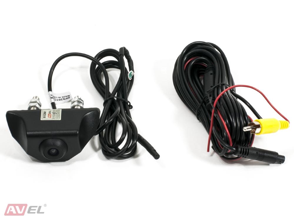 Универсальная камера переднего/заднего вида AVS307CPR (#105 НD)