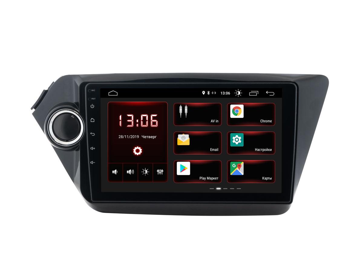 Штатная магнитола InCar XTA-1801 для KIA Rio (2011-2017) (Android 8.1) (+ Камера заднего вида в подарок!)